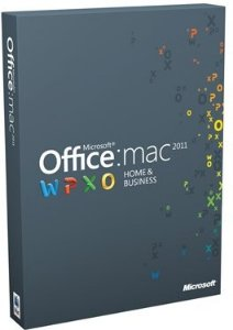 Microsoft Office Mac Home & Business 2011 Nordisk