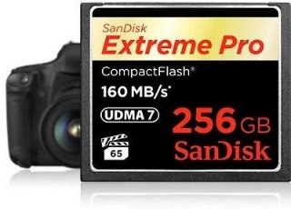 SanDisk CF Extreme PRO 256GB
