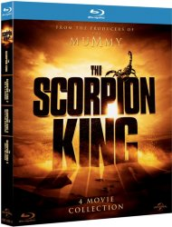 Universal Pictures Norway The Scorpion King Samleboks