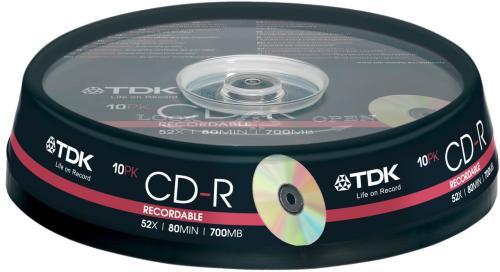 TDK CD-R 52x