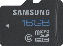 Samsung microSDHC 16GB Class 6 Standard