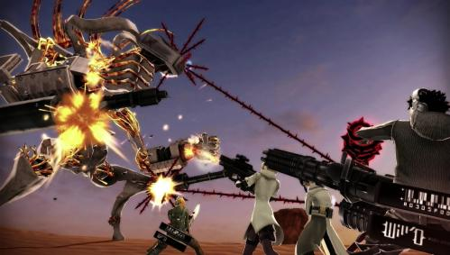 Freedom Wars til Playstation Vita