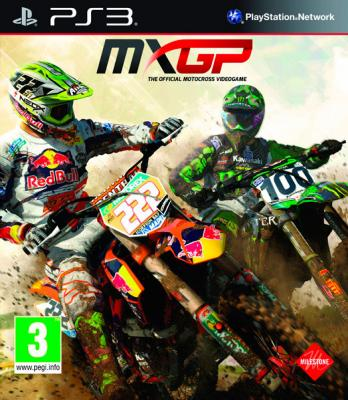 MXGP: The Official Motocross Videogame til PlayStation 3