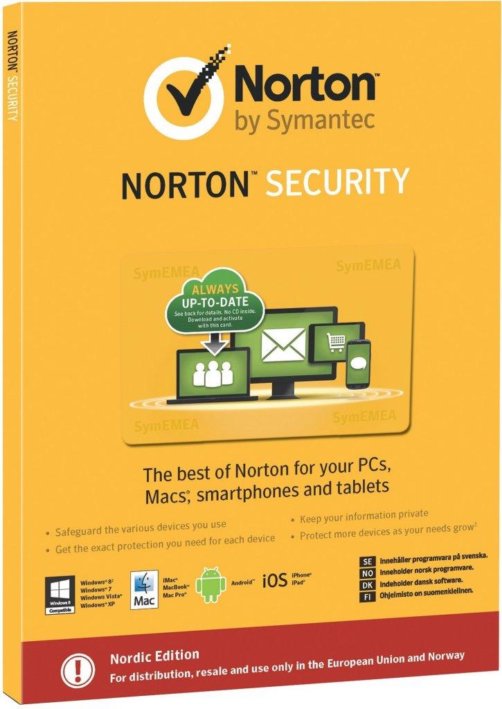 Symantec Norton Security (5 Lisenser)