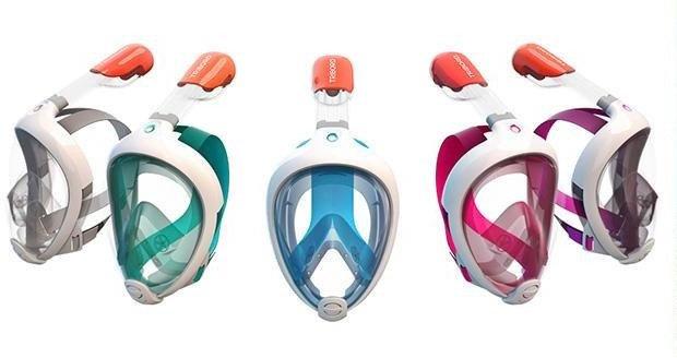 Tribord Easybreath Snorkelmaske