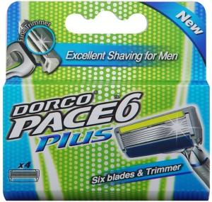 Dorco Pace6 Plus 4 stk