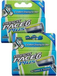 Dorco Pace6 Plus 8 stk