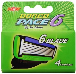 Dorco Pace6 4 stk