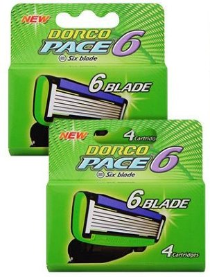 Dorco Pace6 8 stk