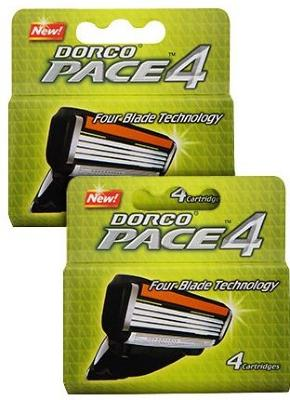 Dorco Pace4 8 stk