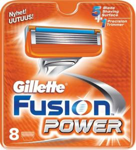 Gillette Fusion Power 8 stk