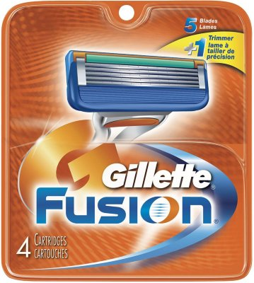Gillette Fusion 4 stk