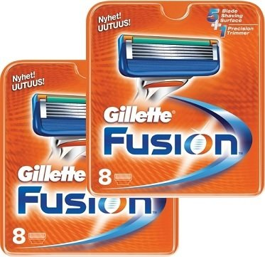 Gillette Fusion 16 stk
