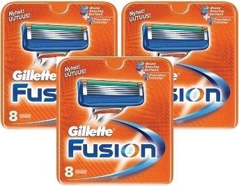 Gillette Fusion 24 stk