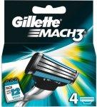 Gillette Mach3 4 stk