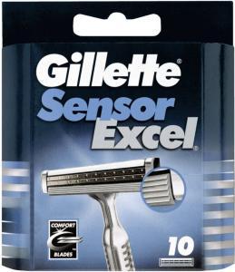 Gillette Sensor Excel 10 stk
