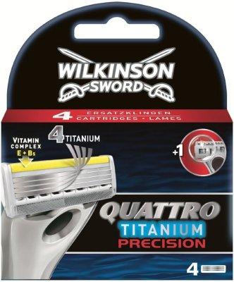 Wilkinson Sword Quattro Titanium Precision 4 stk
