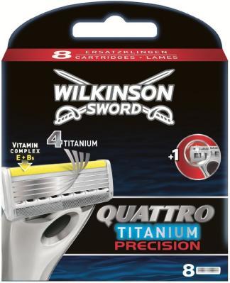 Wilkinson Sword Quattro Titanium Precision 8 stk