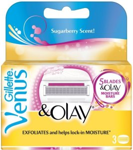 Gillette Venus & Olay Sugarberry 3 stk