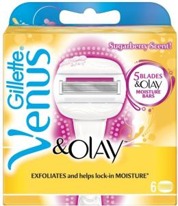 Gillette Venus & Olay Sugarberry 6 stk