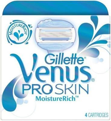 Gillette Venus ProSkin Moisture Rich 4 stk