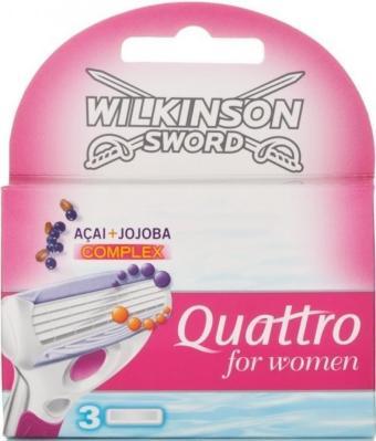 Wilkinson Sword Quattro 3 stk