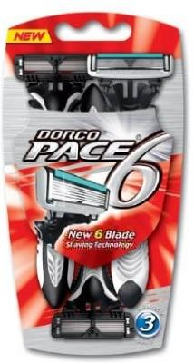 Dorco Pace6 3 stk