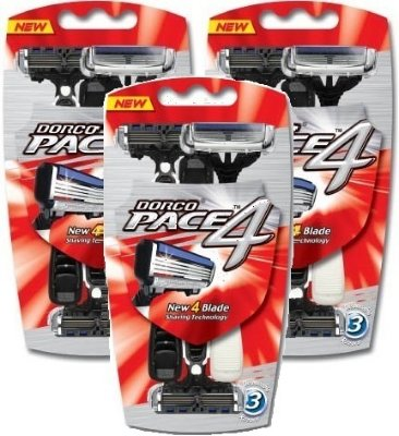 Dorco Pace4 9 stk