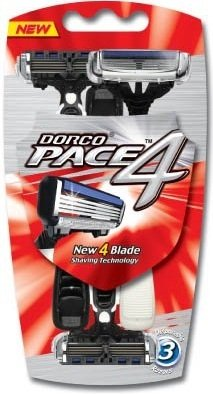 Dorco Pace4 3 stk