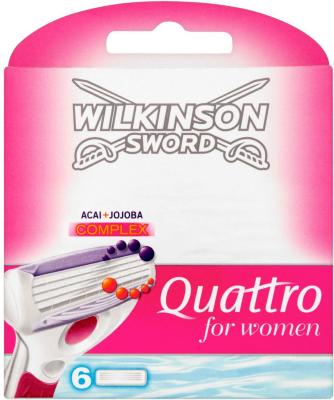 Wilkinson Sword Quattro 6 stk