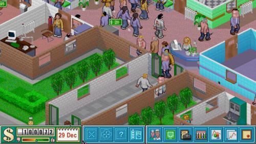 Theme Hospital til Playstation Vita