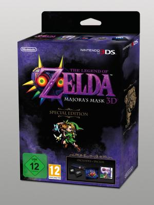 The Legend of Zelda: Majora's Mask 3DS (Special Edition) til 3DS