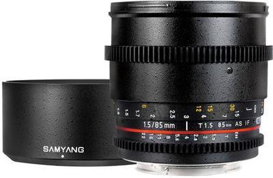 Samyang 85mm T1.5 VDSLR Sony