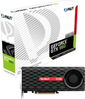 Palit GeForce GTX 960 OC 2GB