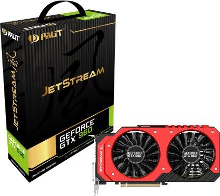 Palit GeForce GTX 960 JetStream 2GB