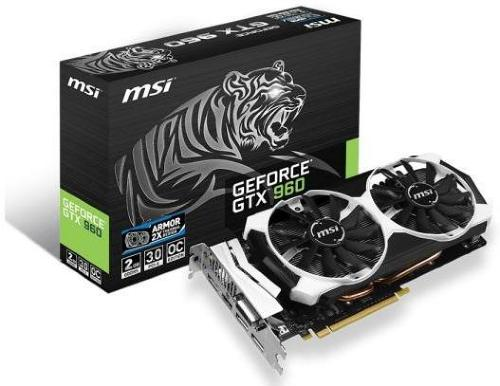 MSI GeForce GTX 960 OC 2GB
