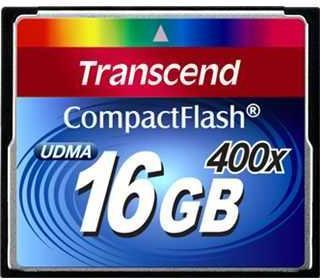 Transcend Compact Flash 400x 16 GB