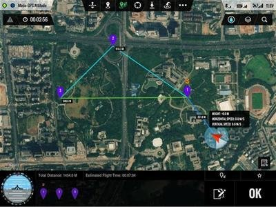 DJI iOS GroundStation