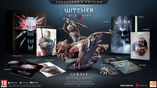 The Witcher 3: Wild Hunt (Collectors Edition) til PC