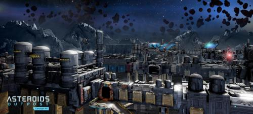 Asteroids: Outpost til PC