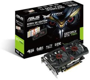 Asus GeForce GTX 750 Ti Strix 4GB