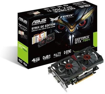 Asus GeForce GTX 750 Ti Strix 4GB