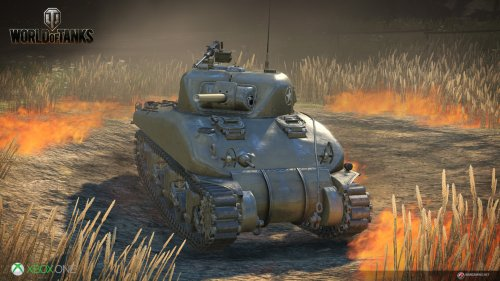 World Of Tanks: Xbox One Edition til Xbox One