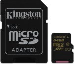 Kingston microSDXC 64GB Class 10