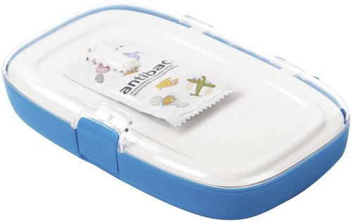 Compleat Clean Blue Lunch Box