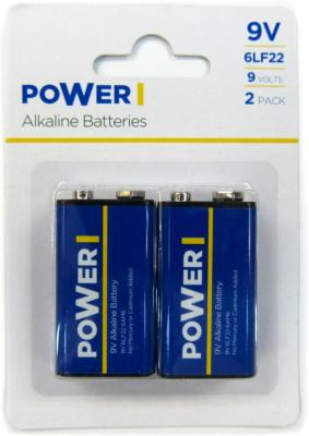 Power ALK 9V 2PK