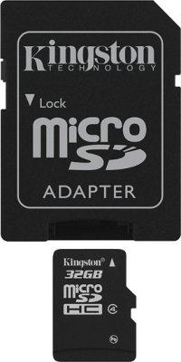 Kingston microSDHC 32GB Class 4
