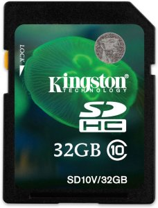 Kingston SDHC 32GB Class 10