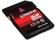 Kingston 100X FG SDHC 32GB Class 10