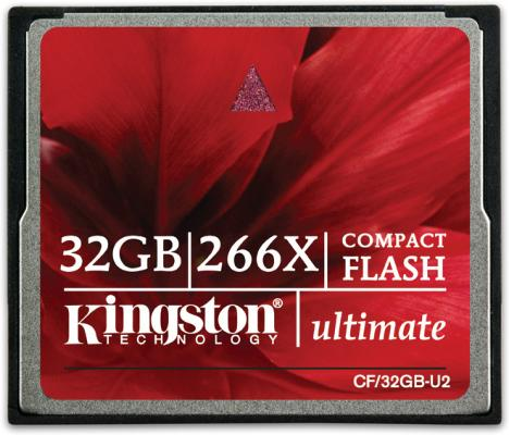 Kingston Ultimate 266X CompactFlash 32GB UHS-II